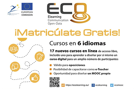 cursos MOOC del proyecto ECO (Elearning Communication Open-Data). UNED Talavera de la Reina