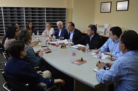 Reunión Junta Rectora del Consorcio. UNED Talavera de la Reina
