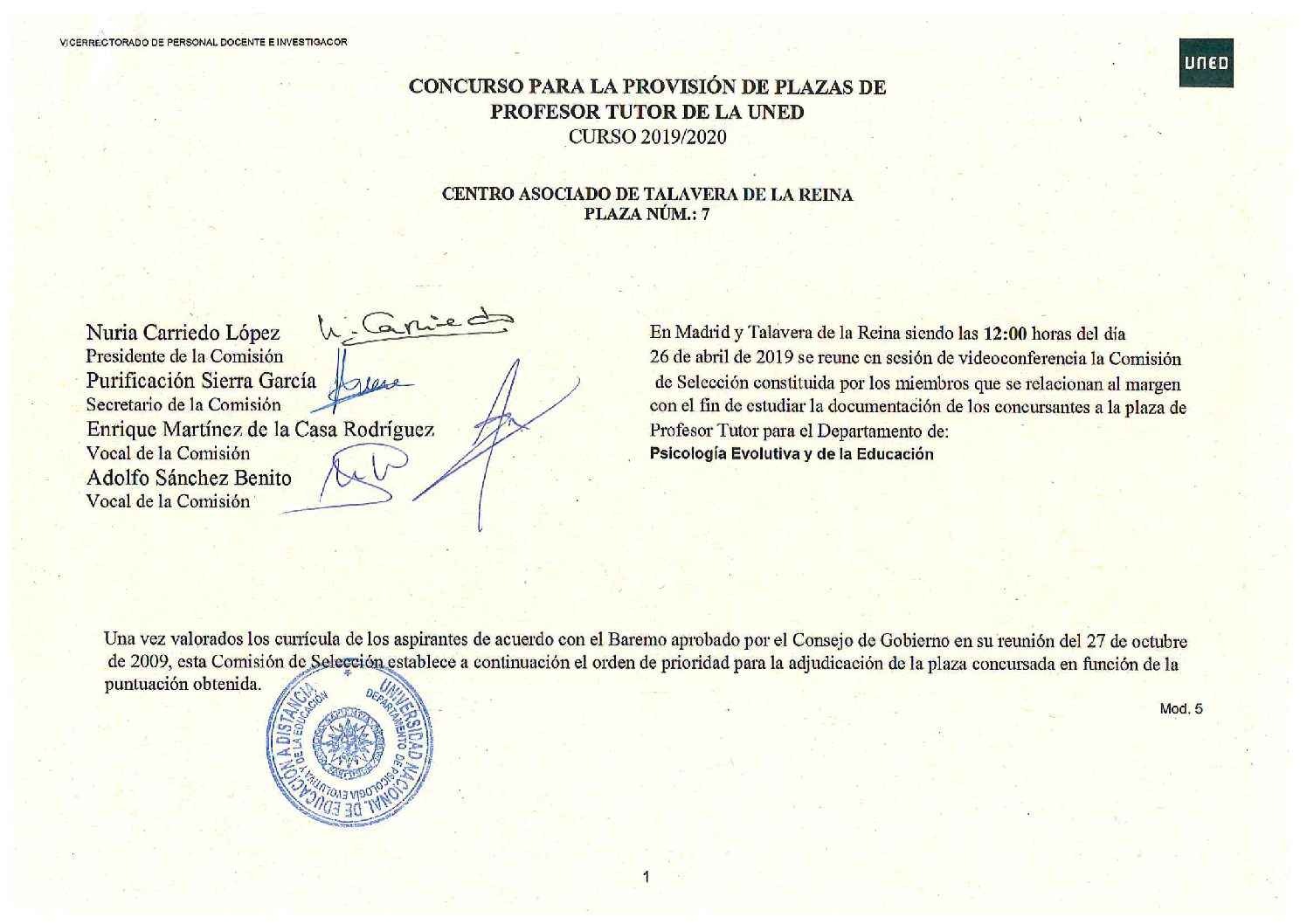 Calendario Laboral Alzira 2020.Calendario Examenes Uned 2020